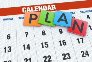 Tax Preparation Services Calendar