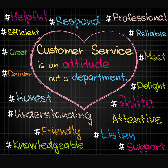 Expect Excellent Customer Service