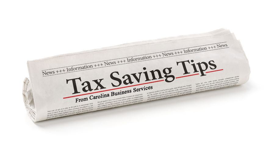 Tax Saving Tips and Information